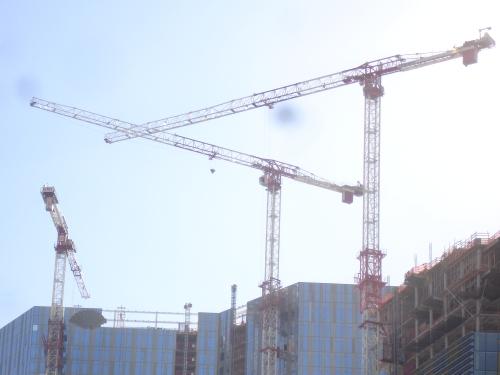 City Center Cranes